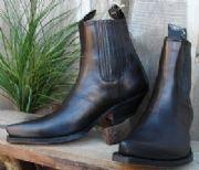 Låga cowboy boots dam